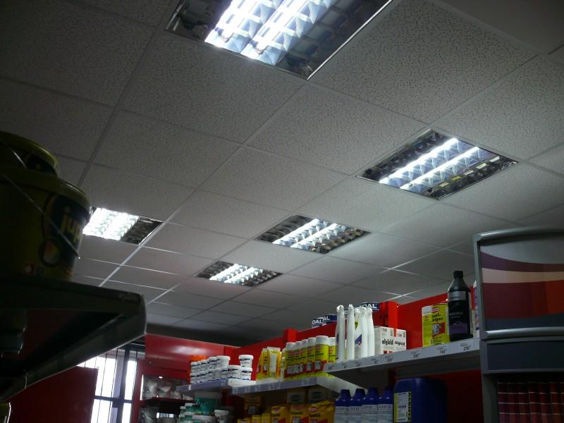 led osvetleni obchodni provoz