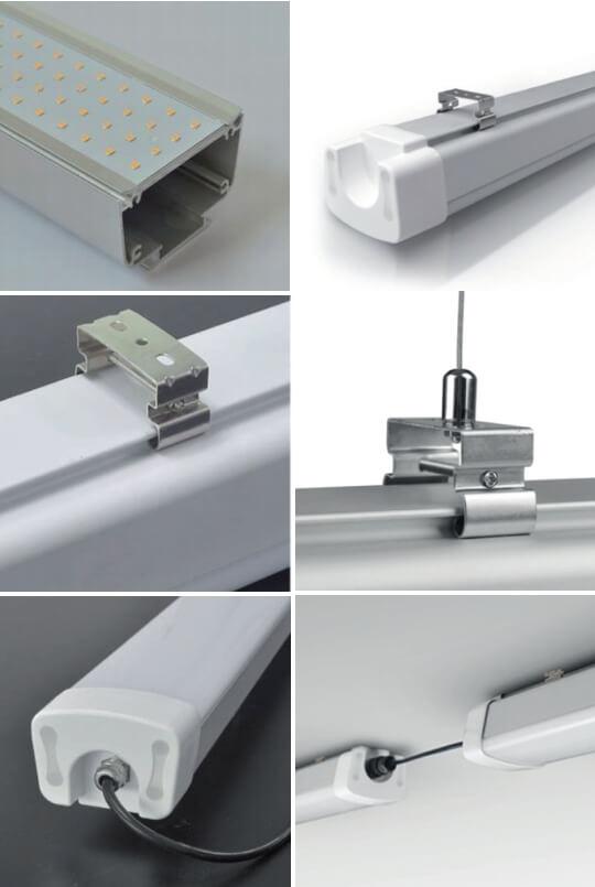 Tri-proof LED průmyslové osvětlení